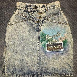 Dresses & Skirts - Tony Alamo denim skirt